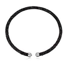 奥地利水晶项链--璀璨光芒(黑色)