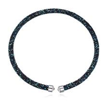 奥地利水晶项链--璀璨光芒(墨蓝)