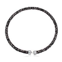 奥地利水晶项链--璀璨光芒(矿石黑)