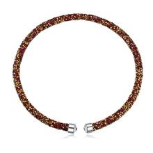 奥地利水晶项链--璀璨光芒(红色)