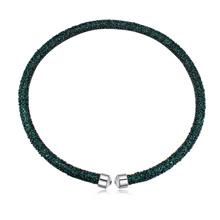 奥地利水晶项链--璀璨光芒(绿色)