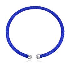奥地利水晶项链--璀璨光芒(蓝色)
