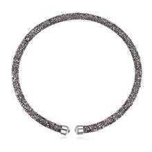 奥地利水晶项链--璀璨光芒(黑钻石)