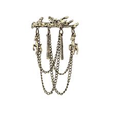 韩版时尚树木小鹿胸针(古铜)