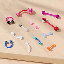 欧美创意个性夸张鼻钉耳钉套装